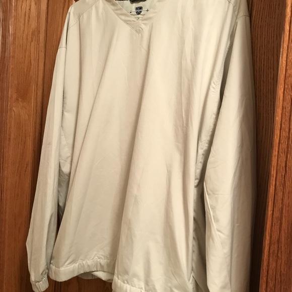 Men's golf long sleeved golf vest